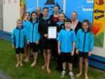 Mangawhai Beach School enviro award(li)